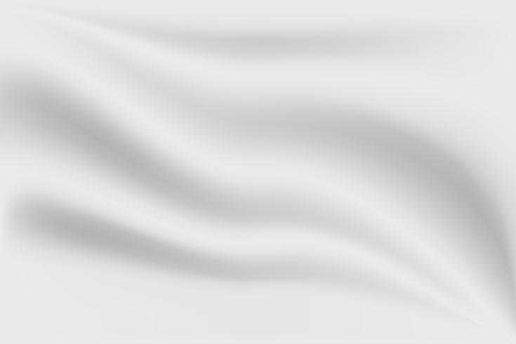 Fondo de seda abstracto gris lujo textura y onda de tela vector
