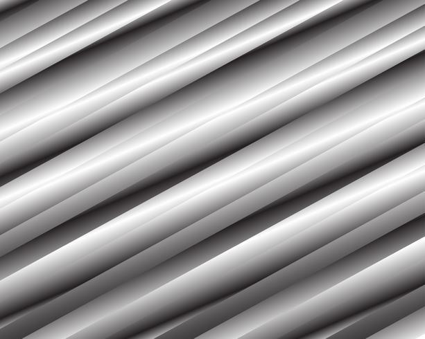 Diseño abstracto del metal plateado para el fondo, el papel pintado y más ejemplo del vector.