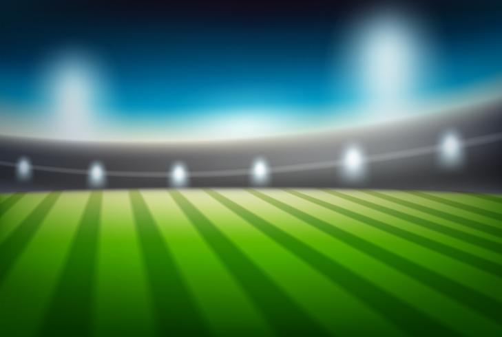 Ein blure Stadionhintergrund