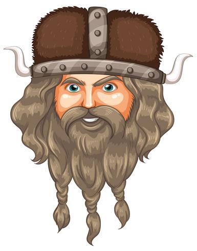 Uma cabeça de viking