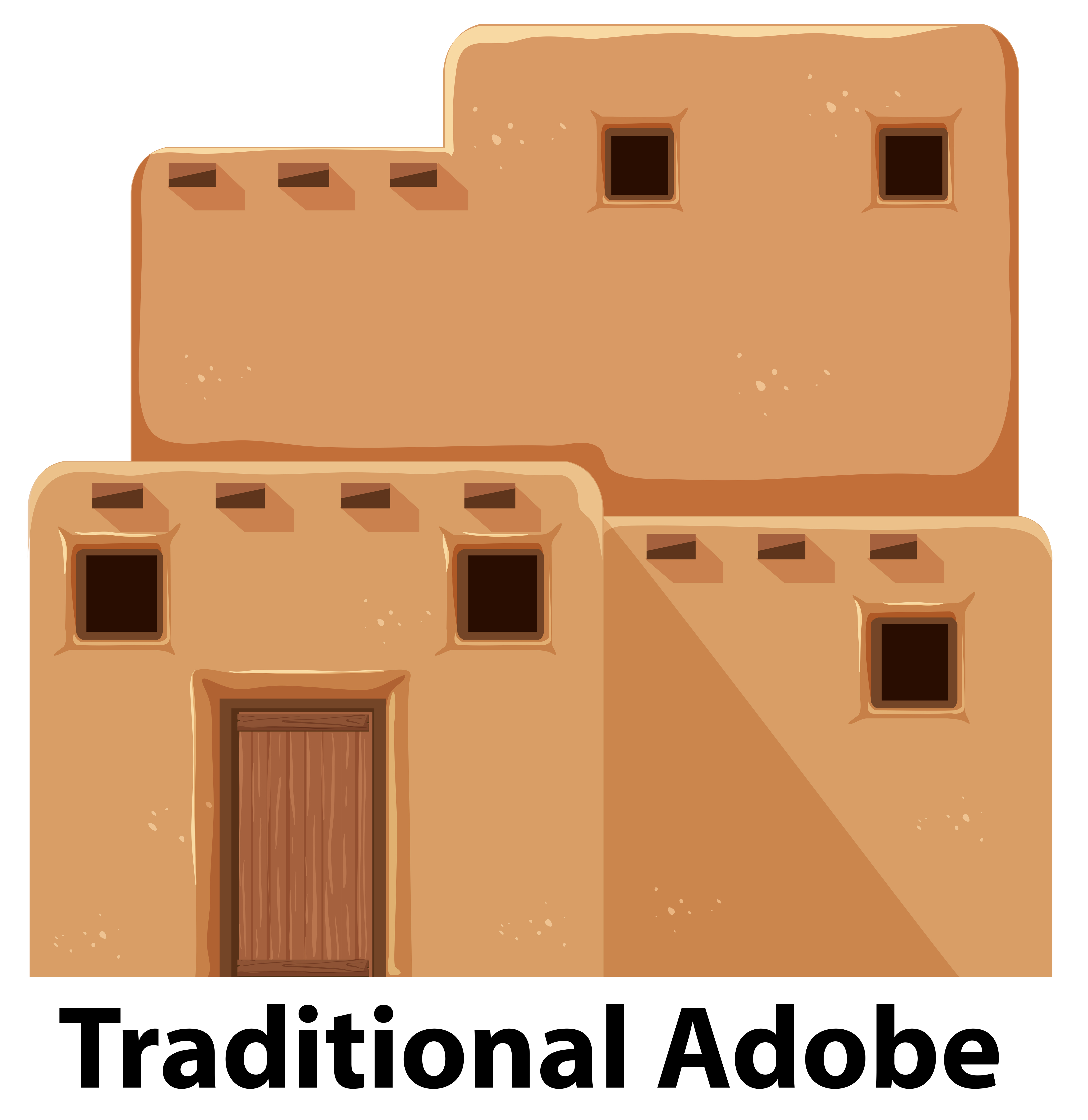 Best Website To Find Apartments: Adobe House Free Vector Art
