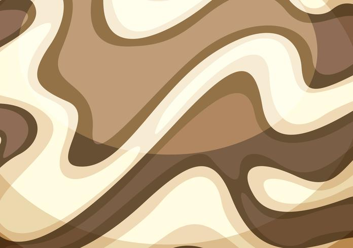 Wave brown abstract wallpaper
