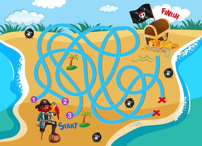 Piraten finden einen Weg zum Schatz