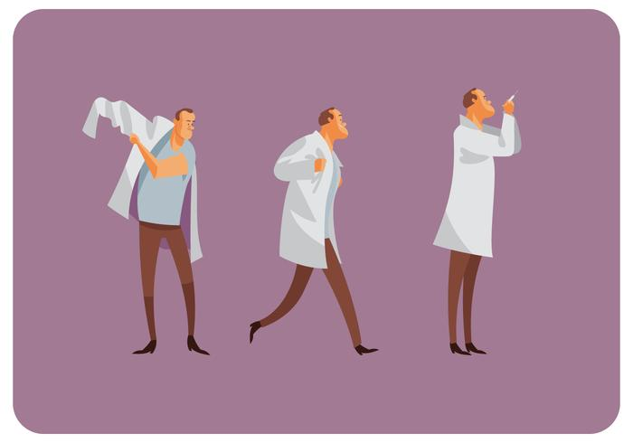 Doctor's Gesture Motion Vector