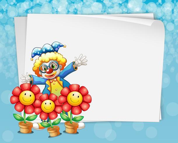 Banner und Clown