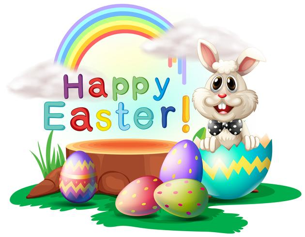 A Happy Easter greeting