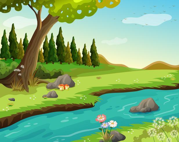 vectors of rivers stream free vector graphics everypixel vectors of rivers stream free