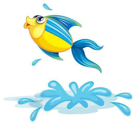 Un pesce al mare