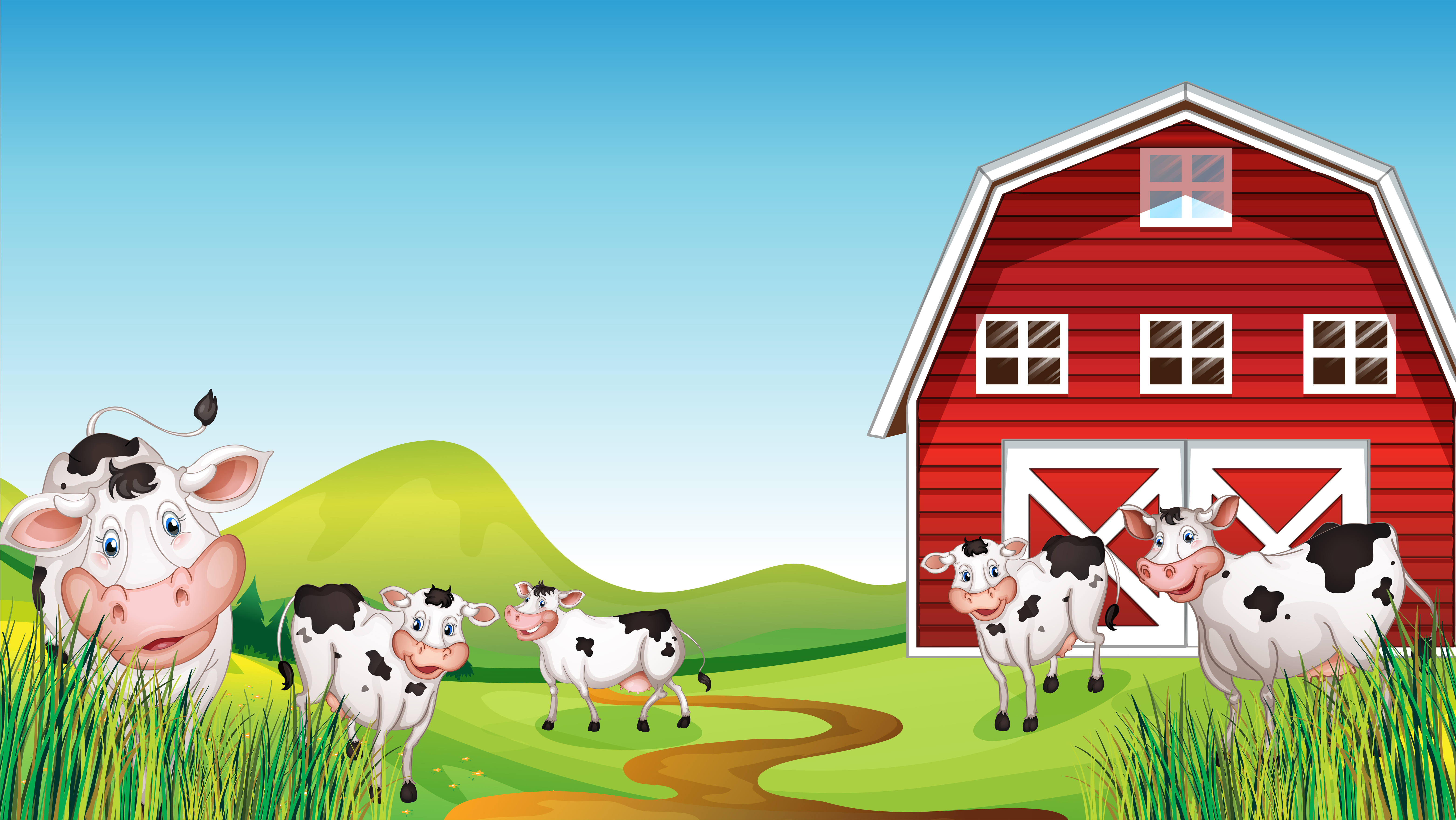 Dairy Cow Clipart