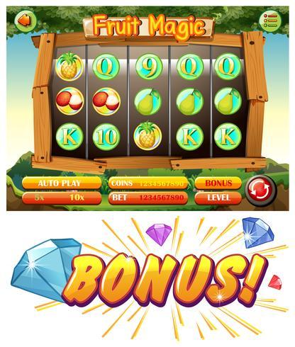 Design del gioco con la magia della frutta