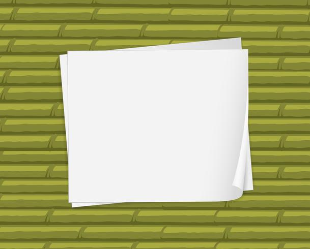 Tomma vita papper