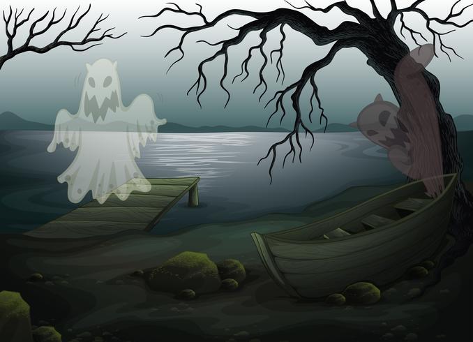 Un lugar fantasmagórico