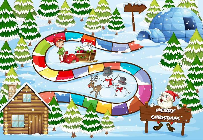 Weihnachtsbrettspiel