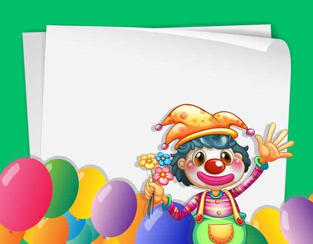 Clown-Banner