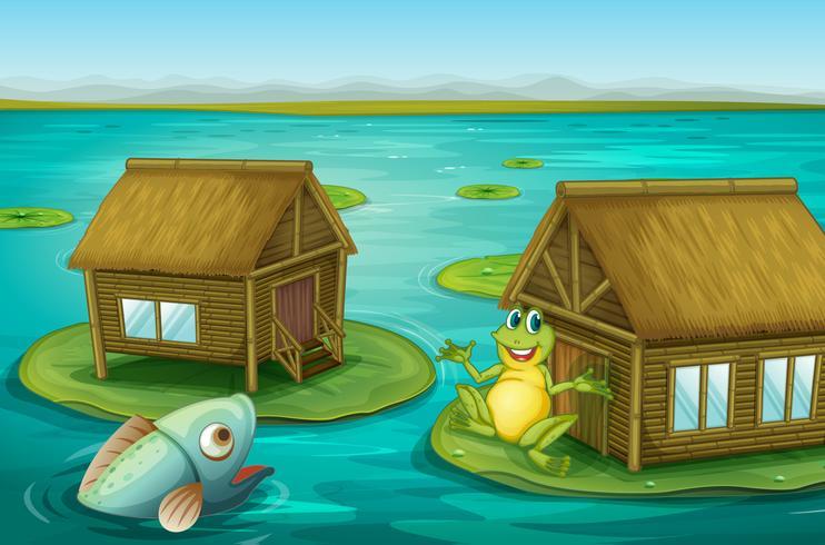 Cabane de grenouille