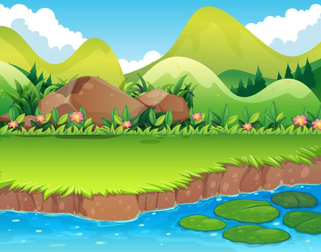 vectors of rivers stream free vector graphics everypixel vectors of rivers stream free
