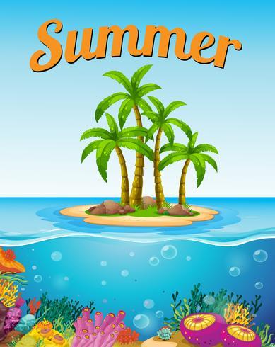 En sommarmall