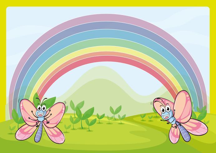 Moscas y arcoiris