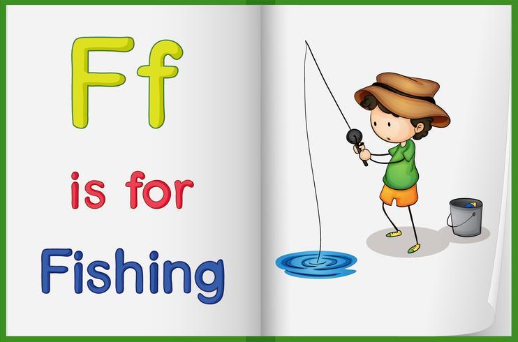 Pesca e un libro