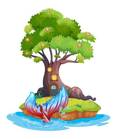 A small island