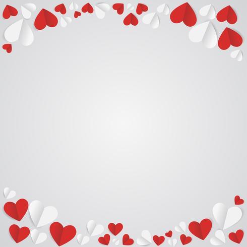 Alla hjärtans dag fri abstrakt bakgrund
