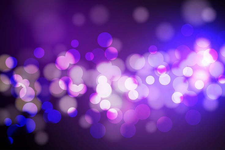 Abstracte cirkel wazig, Bokeh lichten en glitter achtergrond Vector