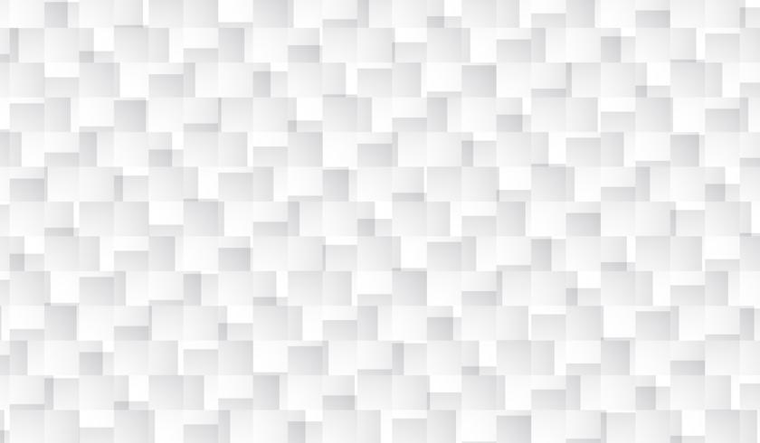 Fundo branco do teste padrão do retângulo, teste padrão aleatório. vetor