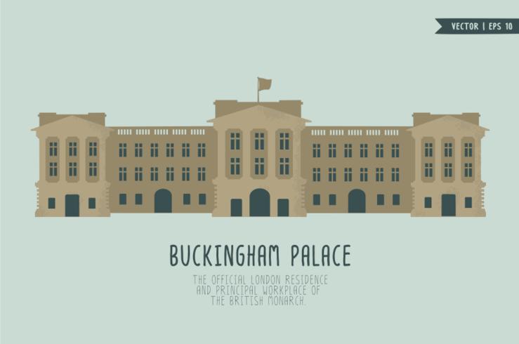 buckingham palatsvektor