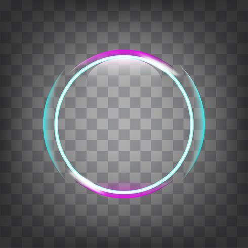effet de cercle de lumière.