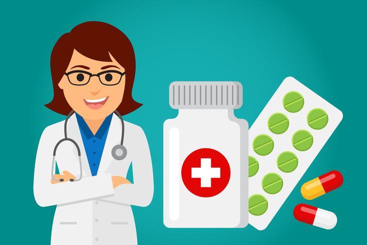 Arts gezondheidszorg (vrouw)