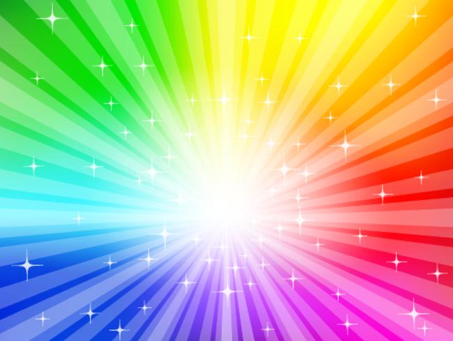 Regenboog achtergrond - vector