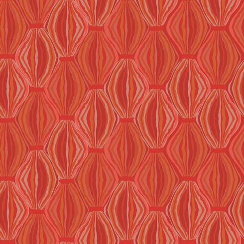 Abstract seamless pattern Line ornament Swirl oriental texture