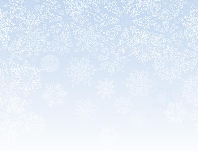 Snow lacy pattern. Christmas Winter holiday background