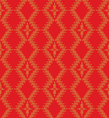 Oosterse bloemenpatroon Abstract floral ornament Swirl weefsel achtergrond vector