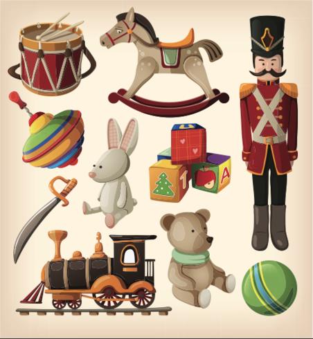 Toy Icon Zeichnungen