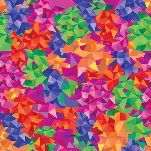 Patrón abstracto sin fisuras Fondo de mosaico geométrico