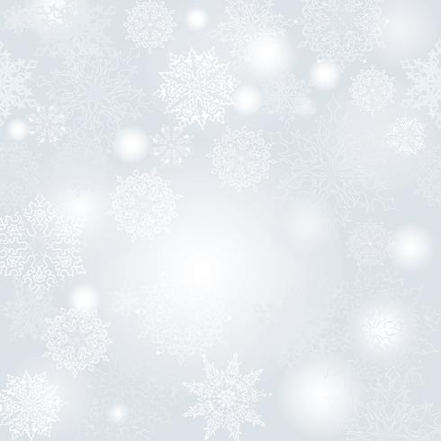Snow blur pattern. Christmas Winter holiday snowy nature background vector