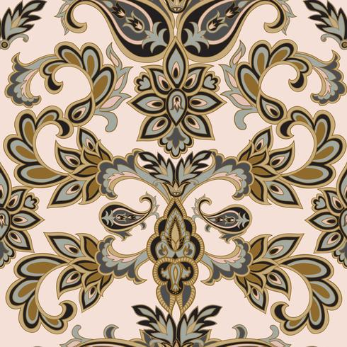Patrón floral sin fisuras Fondo de la flor. Textura floral sin fisuras con flores. Papel pintado alicatado en flor vector