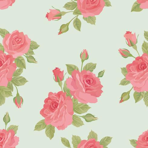 Floral seamless pattern. Flower background. Garden ornament