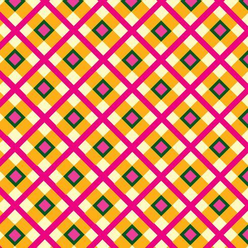 Ornement en tissu. Motif de tartan sans soudure fond géométrique carré