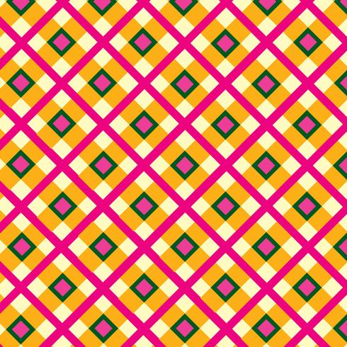 Ornamento de tecido. Seamless tartan pattern Fundo geométrico quadrado
