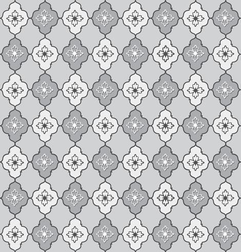 Motivo floreale senza soluzione di continuità. Ornamento floreale astratto. Texture di broccato