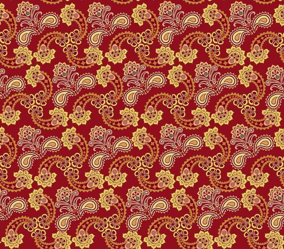 Floral seamless pattern. Oriental texture. Flower ornament