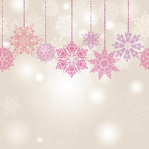 Weihnachtswinterurlaub-Schneehintergrund Muster der Schneeunschärfe nahtloser