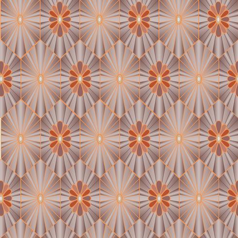 Padrão sem emenda floral. Textura oriental. Enfeite de flores vetor