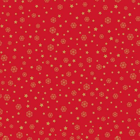 Snow seamless pattern Christmas Winter holiday background vector