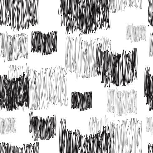 Modello senza cuciture geometrico astratto. Linea trama piastrelle disegnate