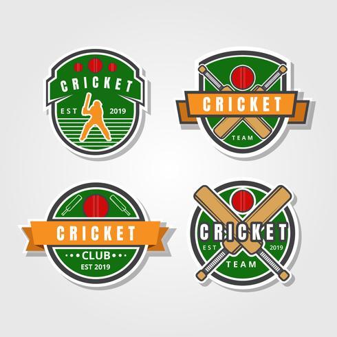 Colección de Logo de Cricket