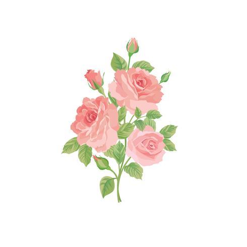 Bouquet di fiori. Cornice floreale Biglietto di auguri fiorito. Arredamento estivo
