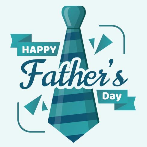 Glücklicher Vatertags-Vektor
